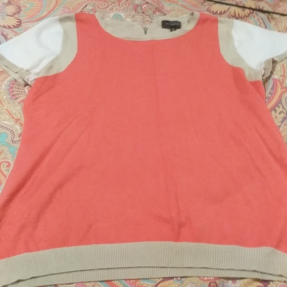 The Limited Tops - Short sleeve sweater top from The limited XL